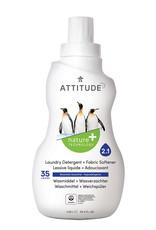 Attitude Attitude Wasmiddel & Wasverzachter 2 in 1 Mountain Essential 1.05l