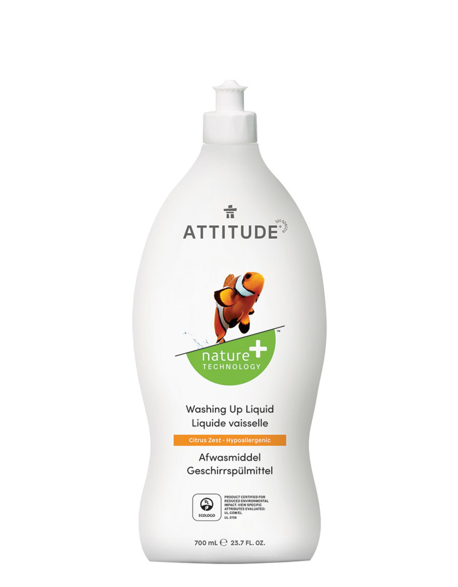 Attitude Attitude Afwasmiddel Citrus Zest 700ml