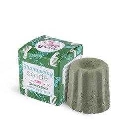 Lamazuna Shampoo in blok met geur van wild gras vet haar 55g