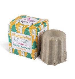 Lamazuna Shampoo in blok met dennenboom olie - normaal haar 55g