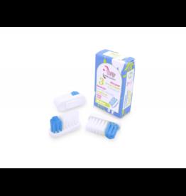 Lamazuna borsteltjes voor Tandenborstelhouder Medium - 3 stuks