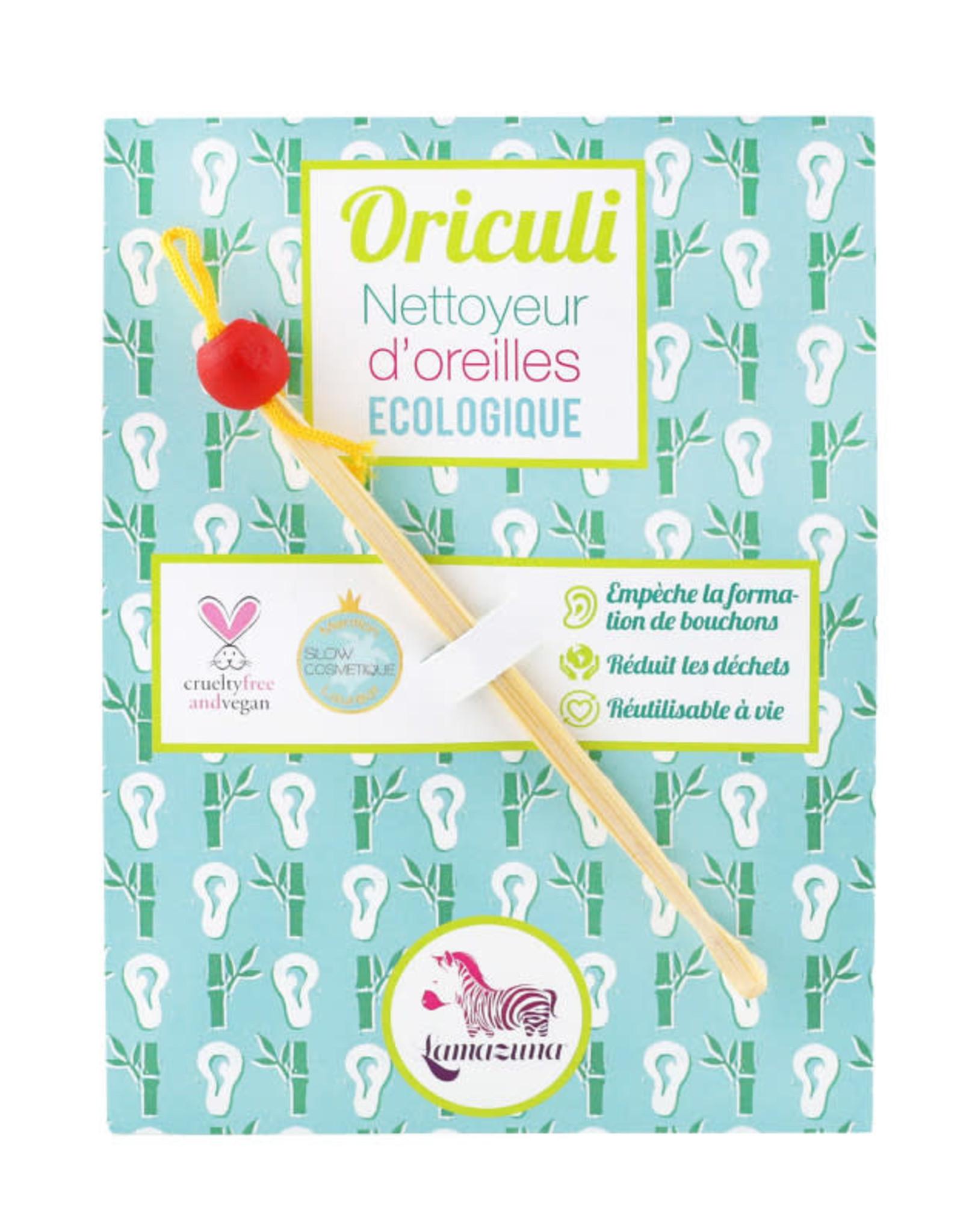 Lamazuna Herbruikbaar oorstaafje Oriculi - Rood