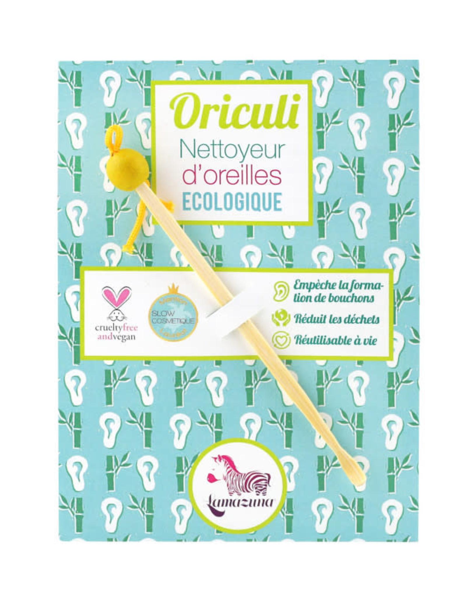 Lamazuna Herbruikbaar oorstaafje Oriculi - Geel