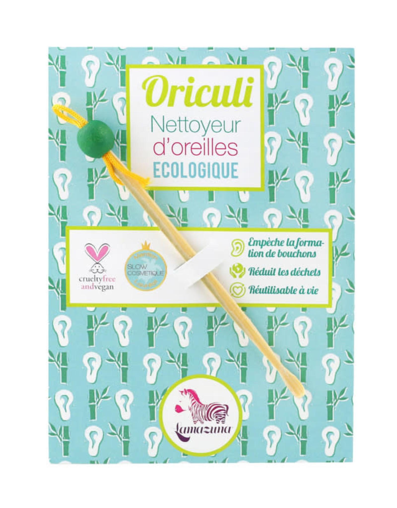 Lamazuna Herbruikbaar oorstaafje Oriculi - Groen