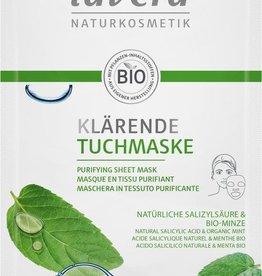 Lavera Gezichtsmasker Purifying Sheet Mask