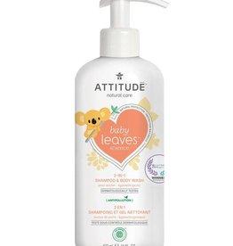 Attitude Attitude Baby Leaves 2 in 1 Shampoo & Body Wash pear nectar 473 ml