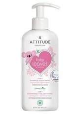 Attitude Attitude Baby Leaves 2 in 1 Shampoo & Body Wash fragrance-free 473 ml