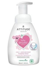Attitude Attitude Baby Leaves 2 in 1 Hair & Body foaming wash fragrance-free 295 ml