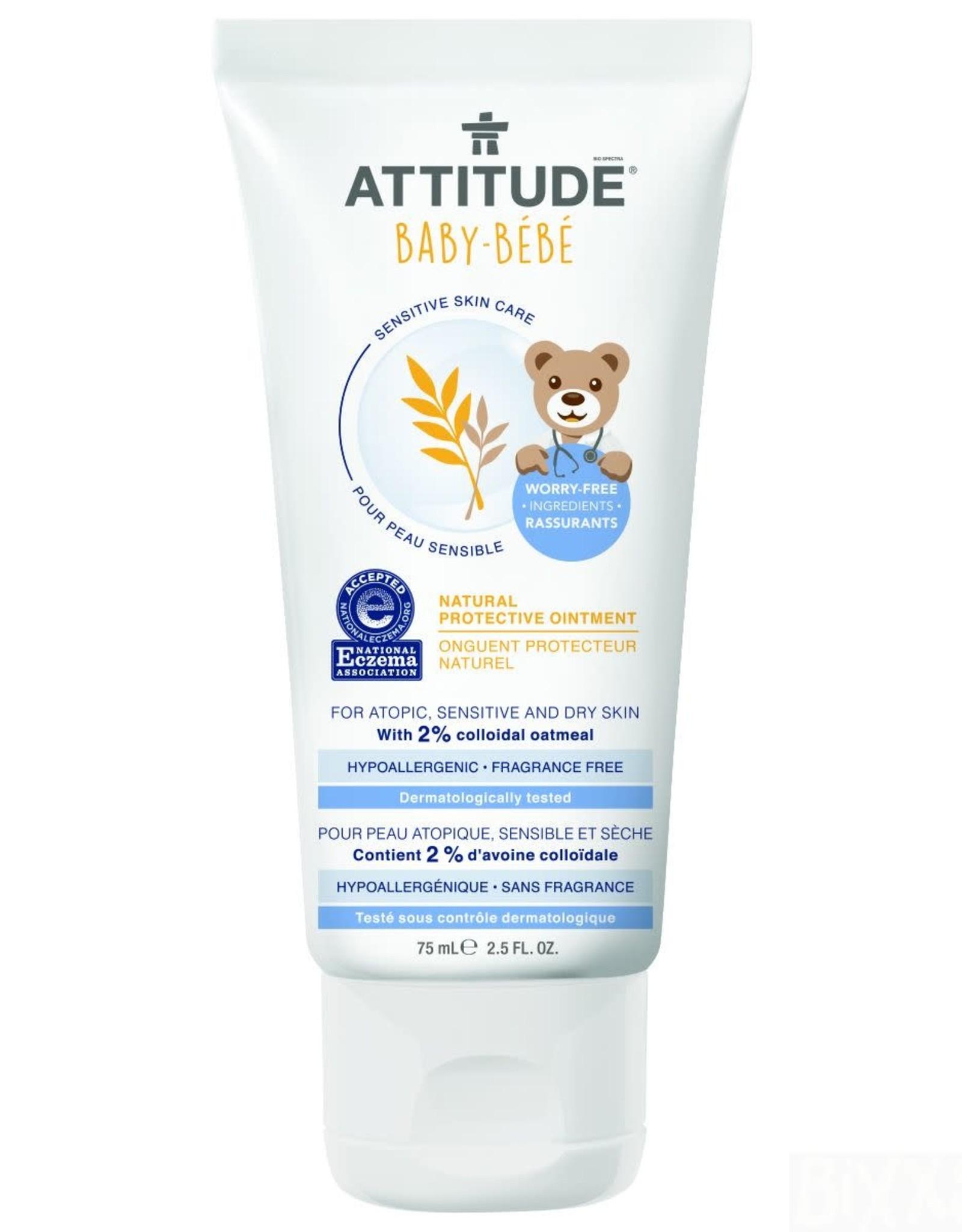 Attitude Attitude Sensitive Baby Natural Protective Ointment 75 ml