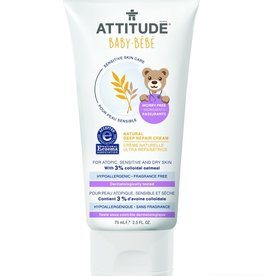 Attitude Attitude Sensitive Baby Natural Deep Repair Cream 75 ml