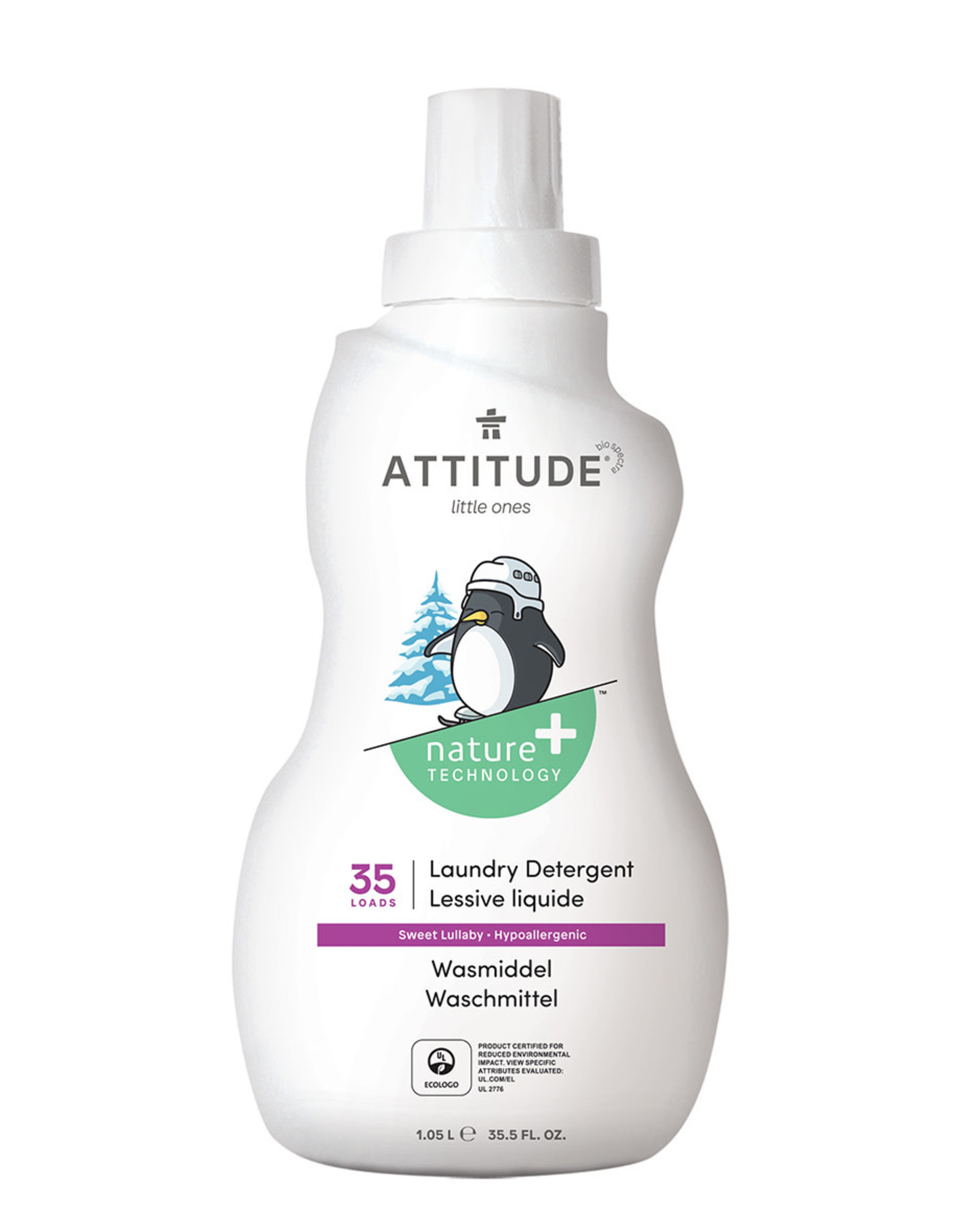 Attitude Attitude Little Ones Wasmiddel Sweet Lullaby 1.05 L