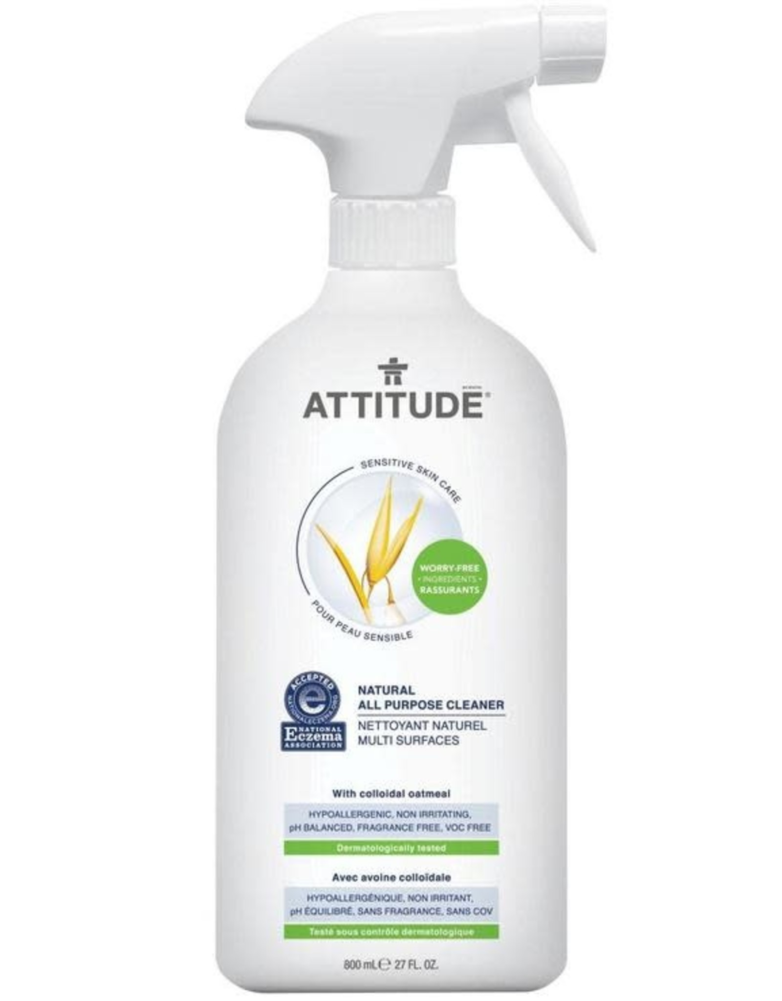 Attitude Attitude Sensitive Skin All Purpose Cleaner 800 ml