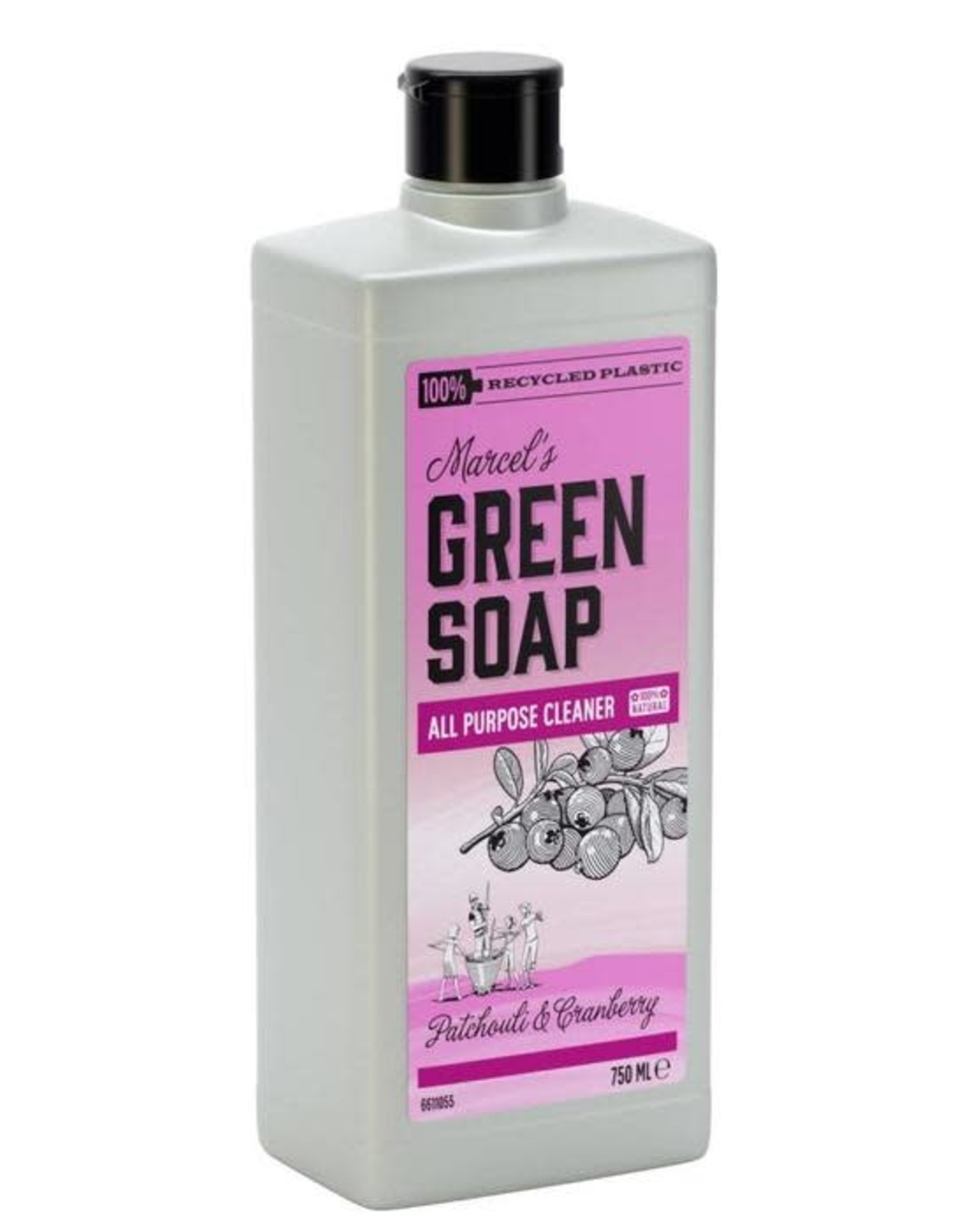 Marcel's Green Soap All Purpose Cleaner Patchouli & Cranberry 750 ml