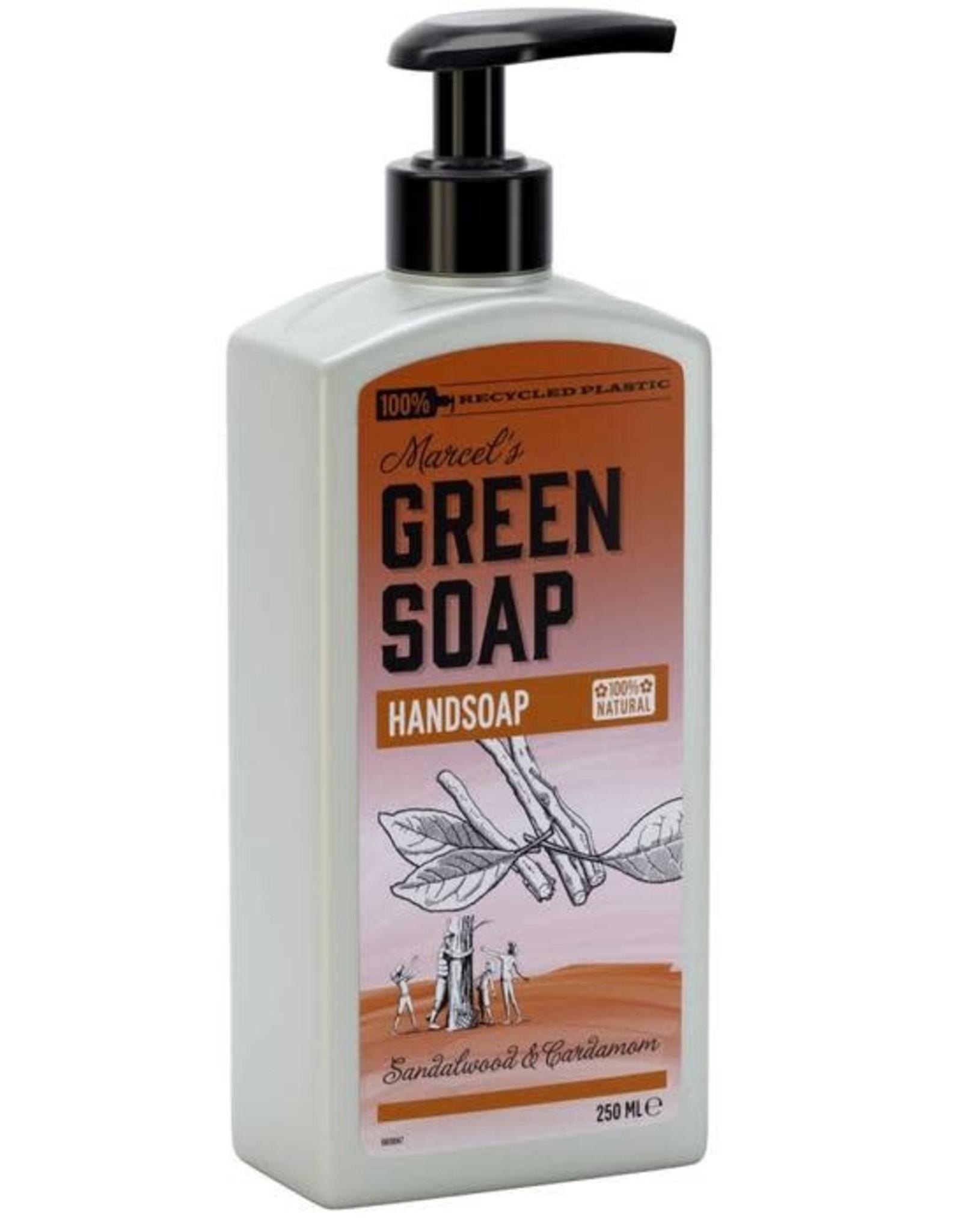Marcel's Green Soap Handsoap Sandelwood & Cardemom 250 ml