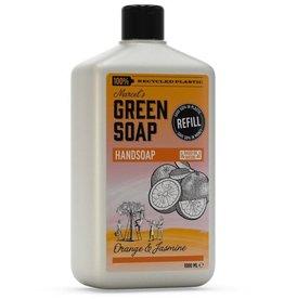 Marcel's Green Soap Marcel's Green Soap - Handsoap Orange & Jasmin refill 1000 ml