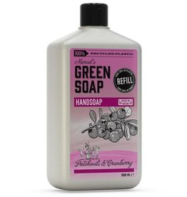 Marcel's Green Soap Marcel's Green Soap - Handsoap Patchouli & Cranberry refill 1000 ml