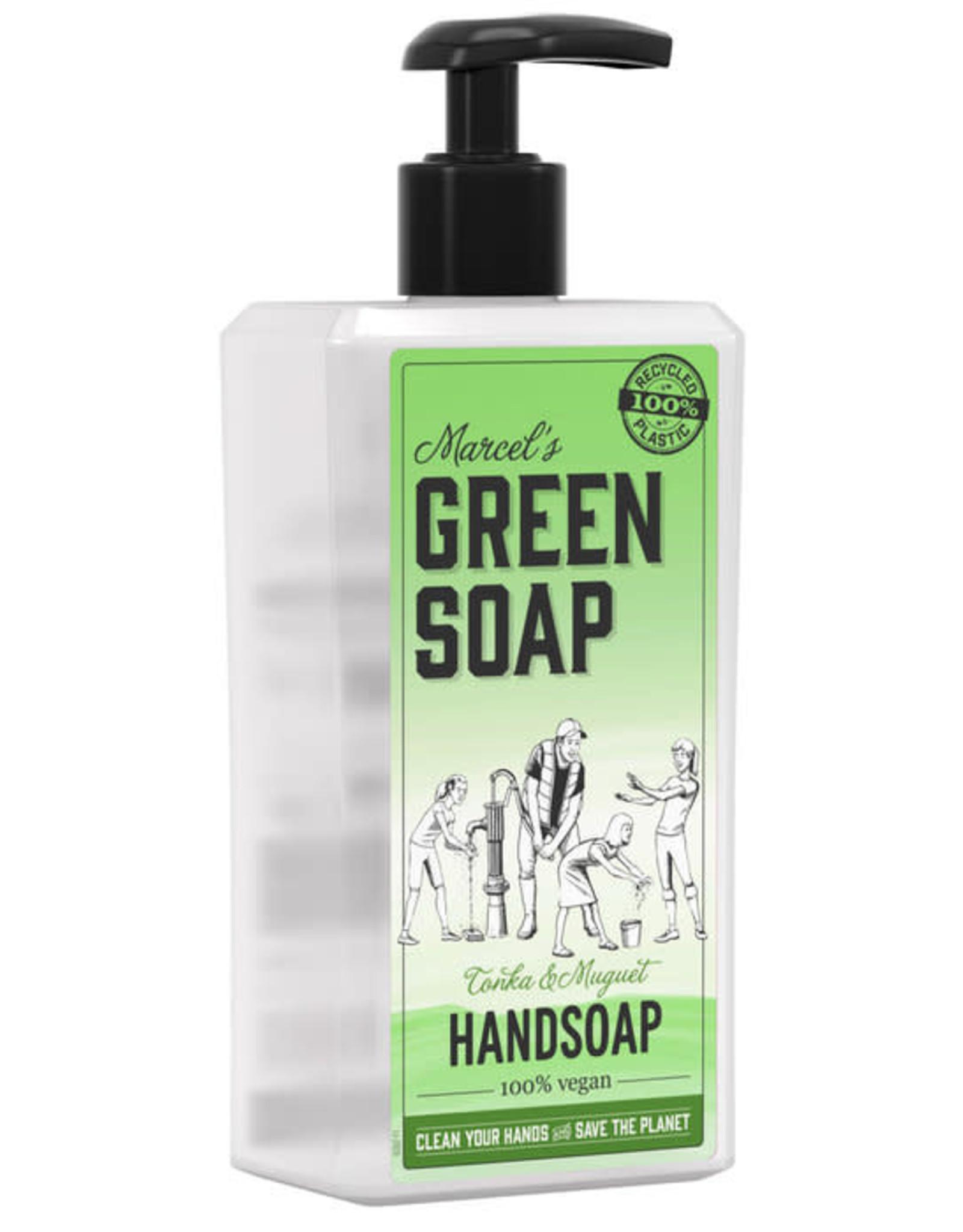 Marcel's Green Soap Handsoap Tonka & Muguet 500 ml