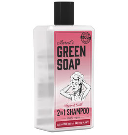 Marcel's Green Soap 2 in 1 Shampoo Argan & Ouhd 500 ml
