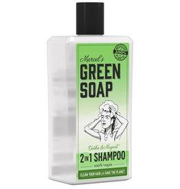 Marcel's Green Soap 2 in 1 Shampoo Tonka & Muguet 500 ml
