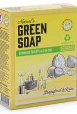 Marcel's Green Soap Dishwash Tablets All-In-One 24x 20 gram