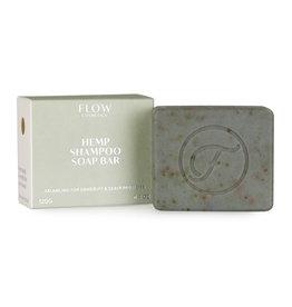Flow Cosmetics Shampoo Soap Bar Hemp voor problematische hoofdhuid 120 g