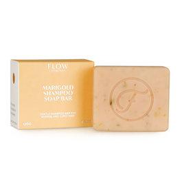 Flow Cosmetics Shampoo Soap Bar Marigold voor normale en krullend haar 120 g