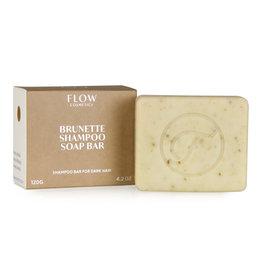 Flow Cosmetics Shampoo Soap Bar Brunette voor donker haar 120 g