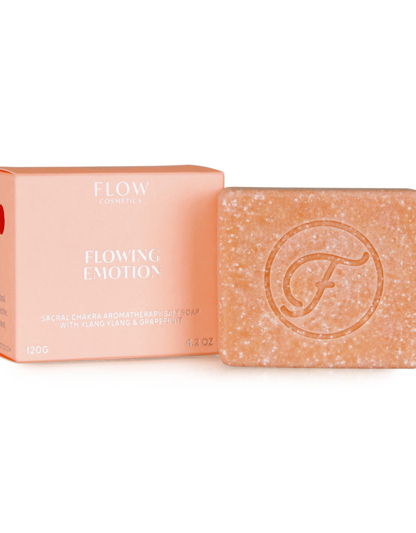 Flow Cosmetics Chakra Soap - Flowing Emotion - Aromatherapeutische zeep voor Gezicht, Lichaam & Haar 120 g