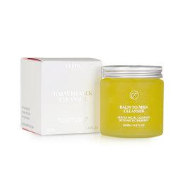 Flow Cosmetics Balm to Milk Cleanser - Milde gezichtsreiniger met wilde bosbes 120 ml