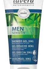 Lavera Men Sensitive Showergel 3 in 1 - 200 ml