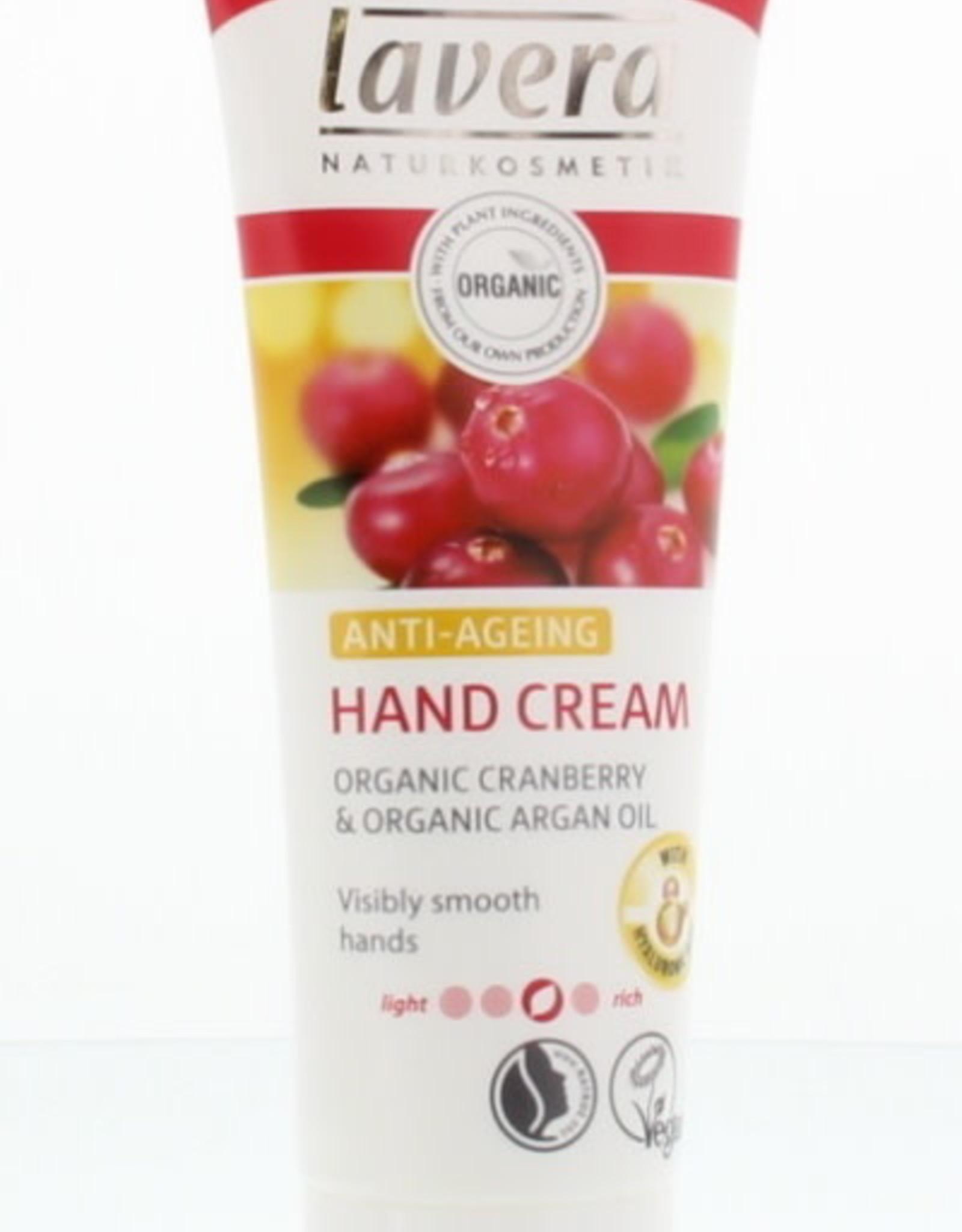 Lavera Hand Cream Cranberry & Argan Oil Anti-Ageing 75 ml