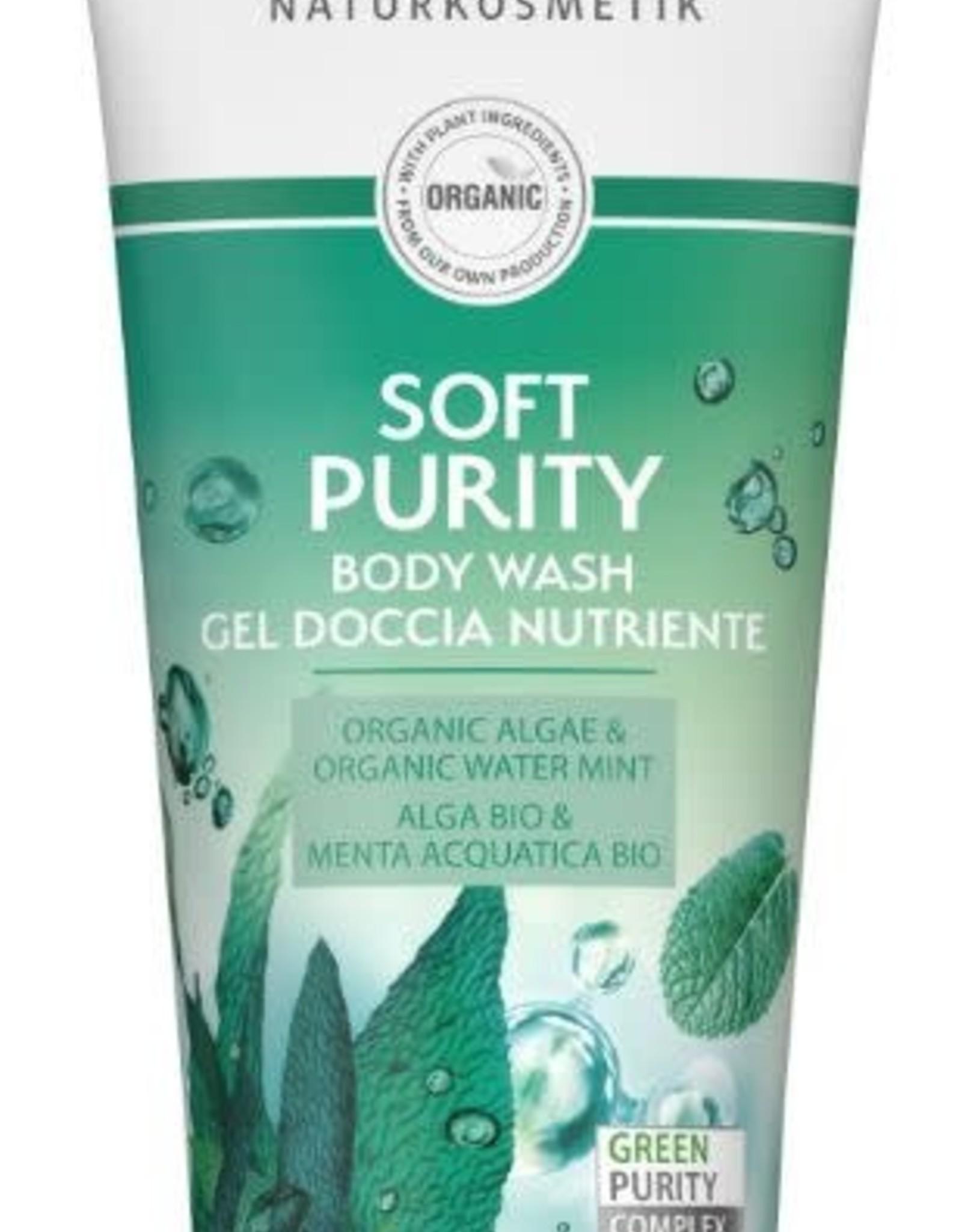 Lavera Douchegel/body wash soft purity 200 ml