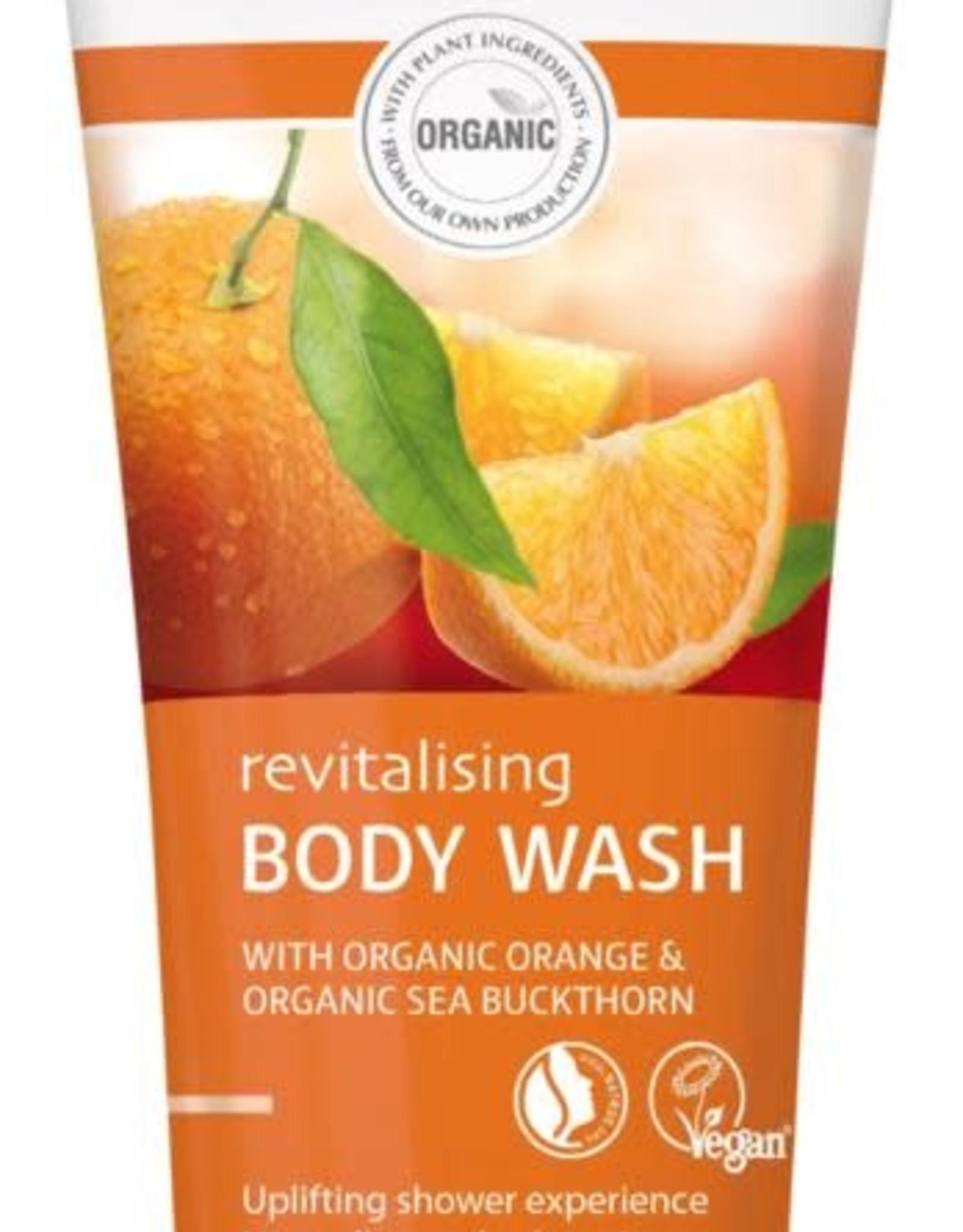 Lavera Douchegel/body wash revitalising orange 200 ml