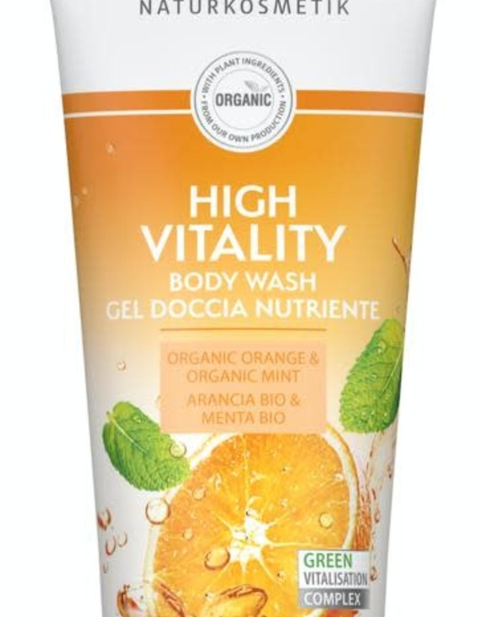 Lavera Douchegel/body wash high vitality 200 ml