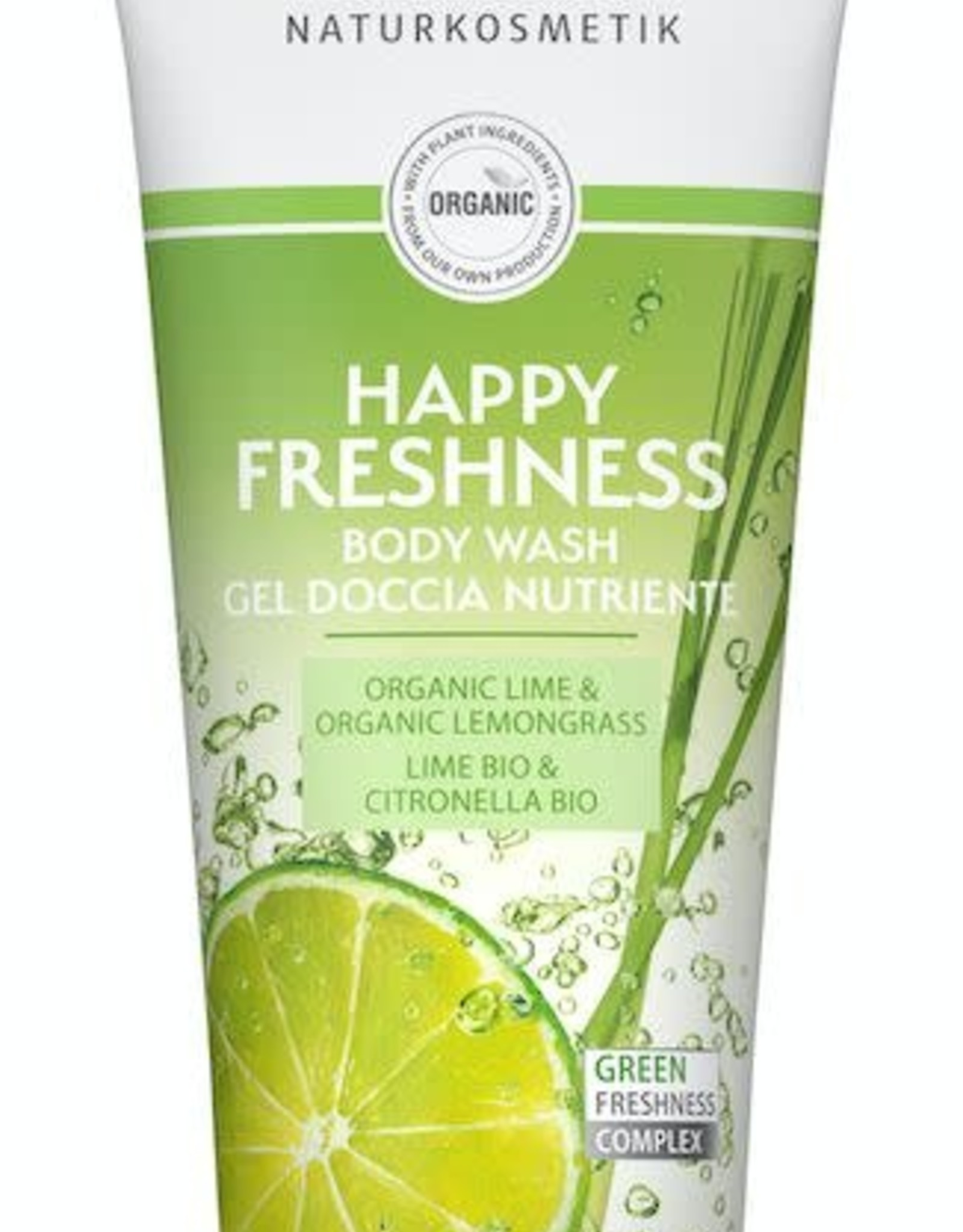 Lavera Douchegel/body wash happy freshness 200 ml