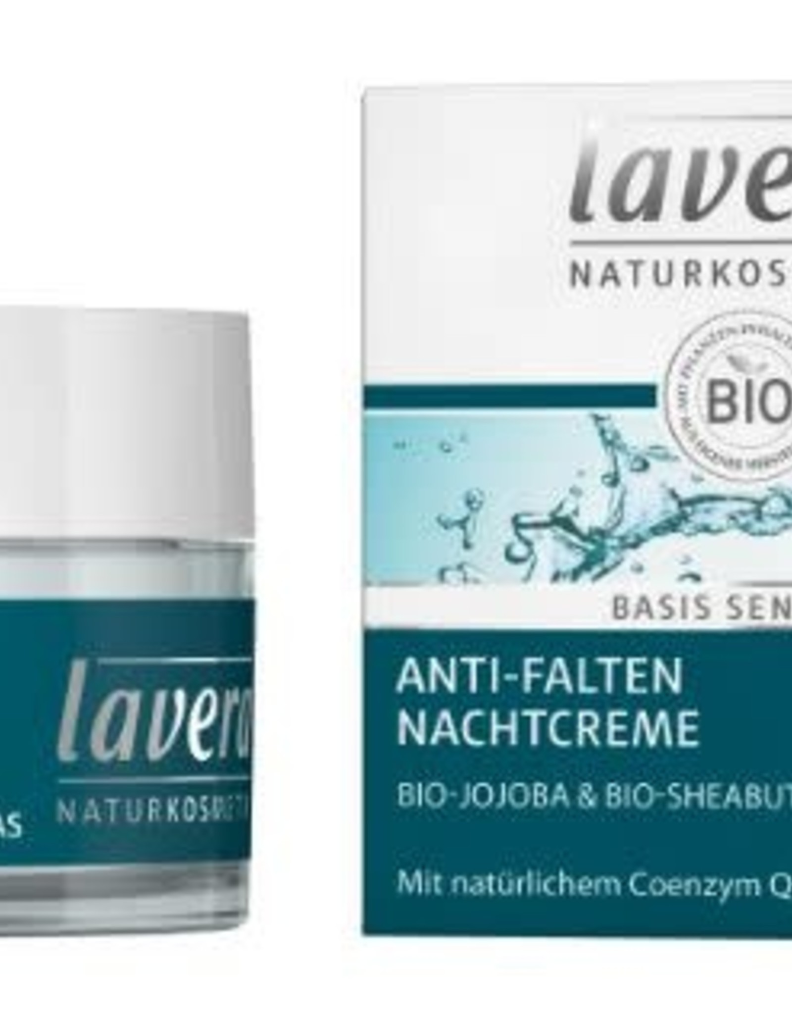 Lavera Basis Sensitiv nachtcreme/night cream 50 ml