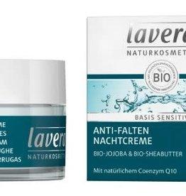 Lavera Basis Sensitiv nachtcreme/night cream 50 ml
