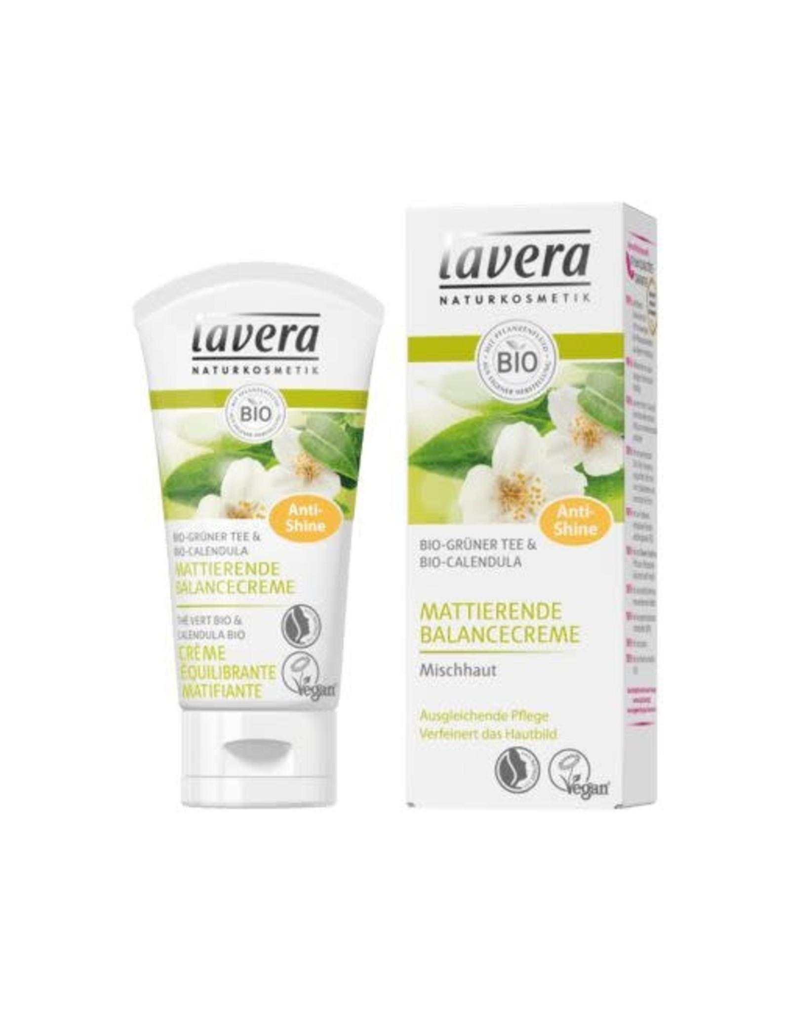 Lavera Balancing cream mattifying green tea 50 ml