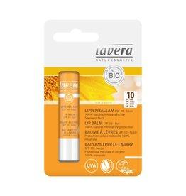 Lavera Zonnebrand lippenbalsem/sun lipbalm SPF10 4,5 g