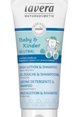 Lavera Baby & Kinder Baby wash lotion & shampoo 200 ml