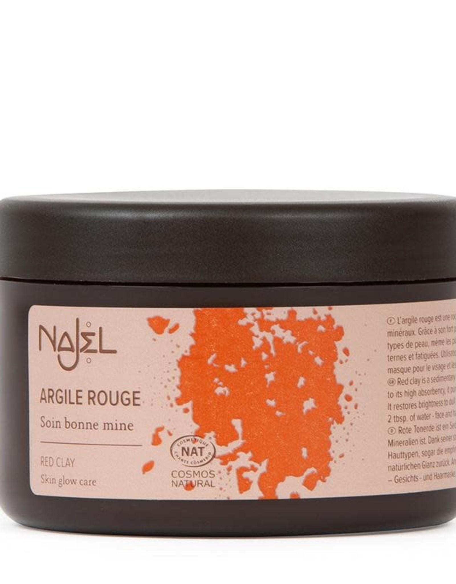 Najel Aleppo gezichtsmasker rode kleipoeder 150 g