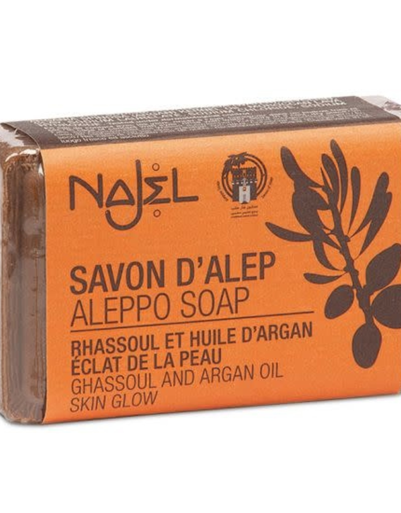 Najel Aleppo zeep argan olie lava aarde 100 g