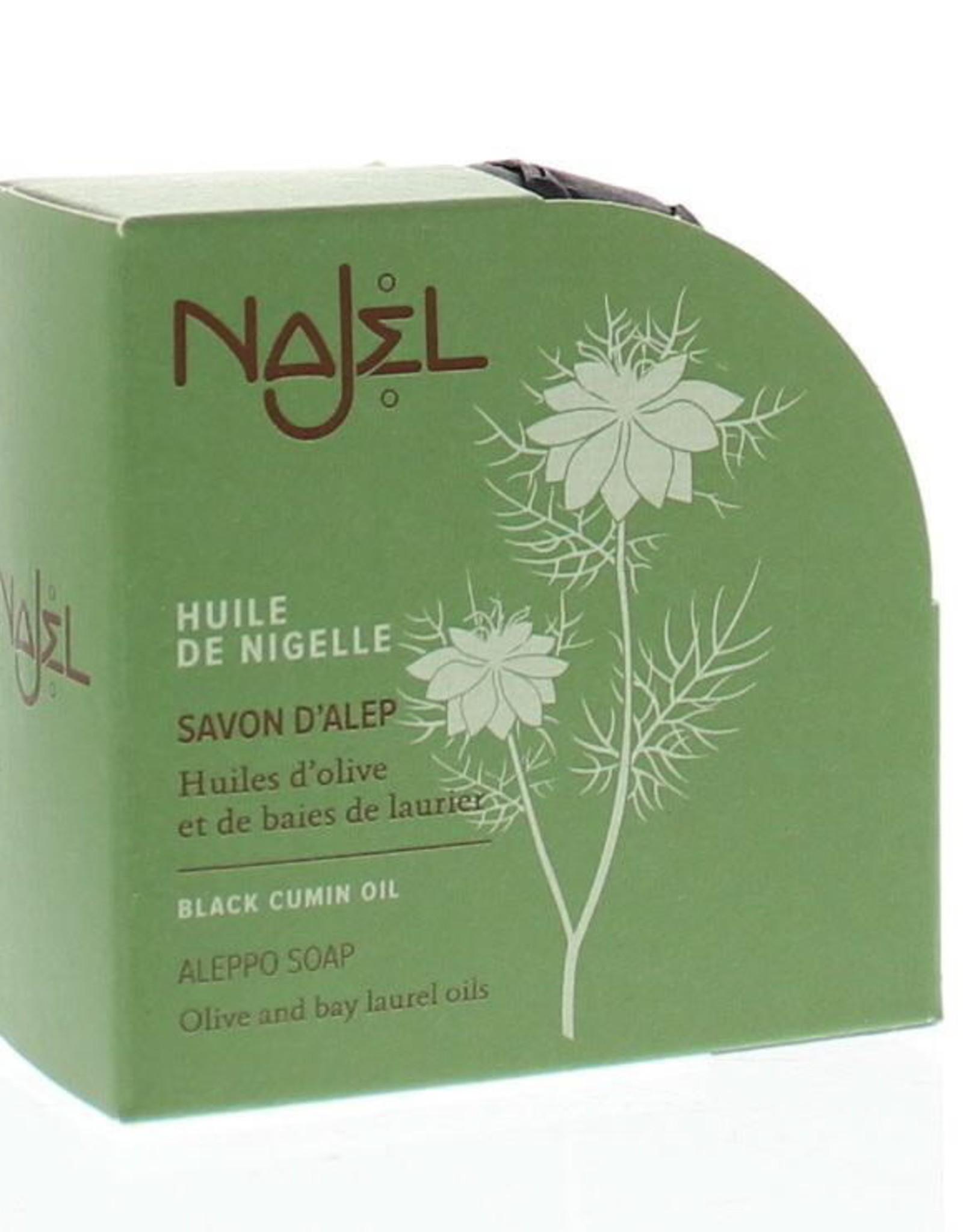 Najel Aleppo zeep nigella olie zwarte komijn 100 g