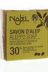 Najel Aleppo zeep olijf olie 30% 170g
