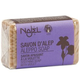Najel Aleppo zeep olijf viooltjes 100g