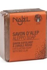 Najel Aleppo zeep scrub rode klei 100g