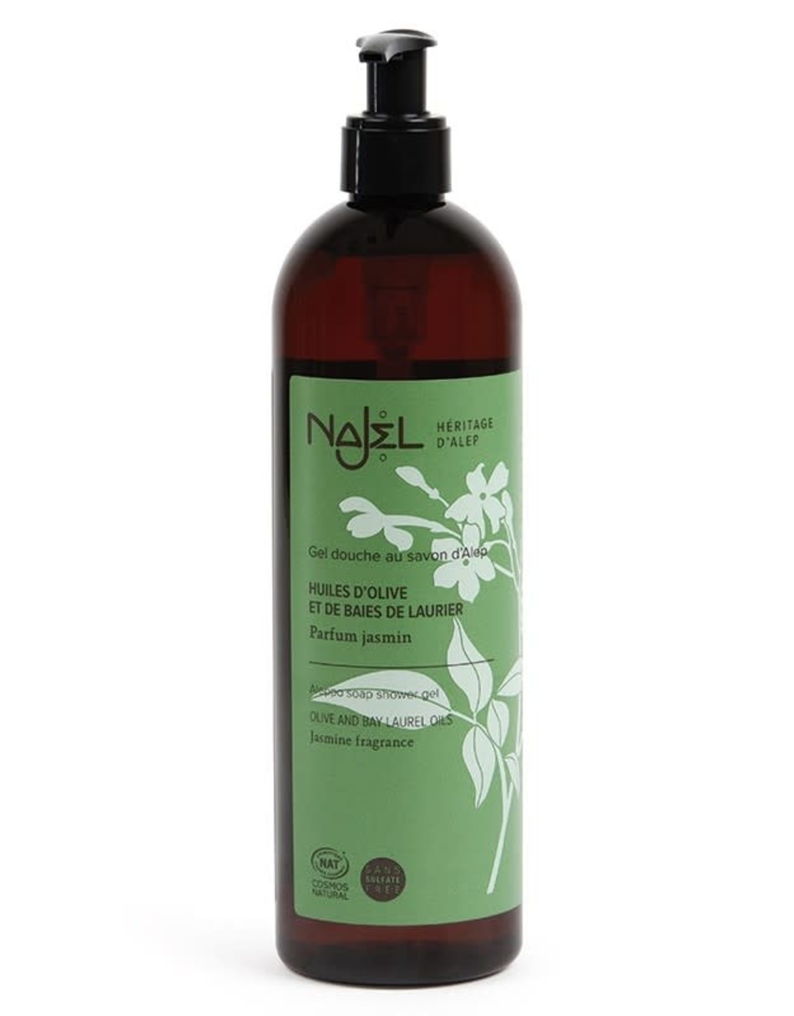 Najel Shower gel jasmijn bio 500ml