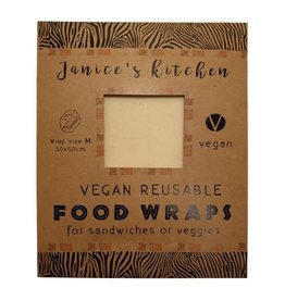 Janice's Kitchen Vegan Soja Food Wrap Extra Large 45x55cm