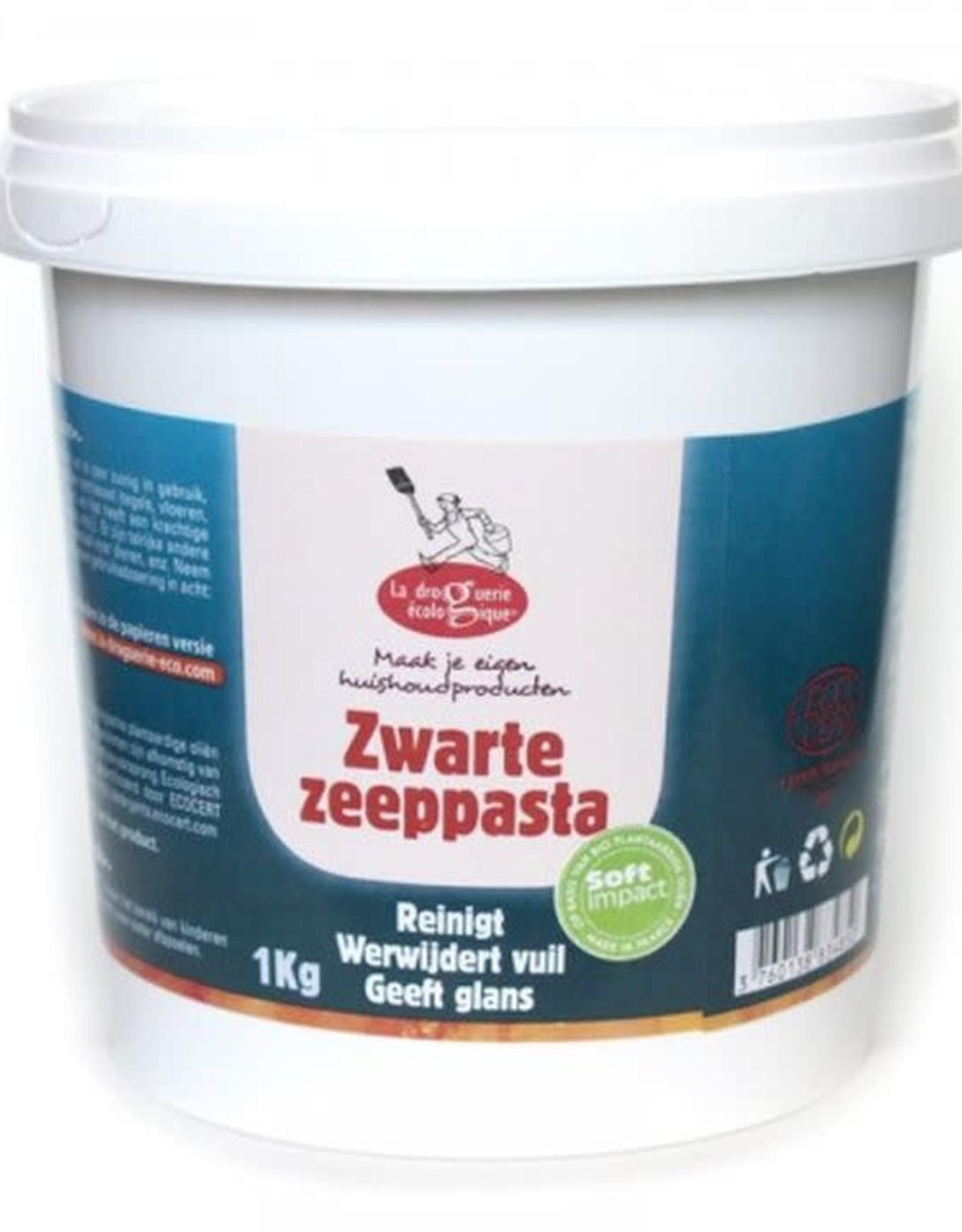 La droguerie écologique Biologische groene/zwarte zeep pasta - 1kg