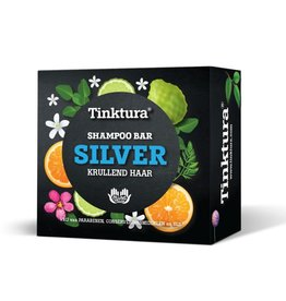 Tinktura Tinktura - Shampoo bar zilver 60g